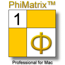 PhiMatrix logo store Mac