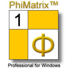 PhiMatrix logo Windows