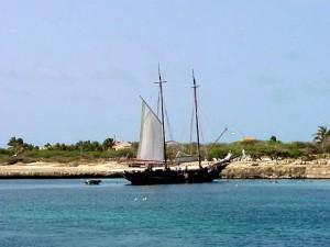 Sailboat before cropping